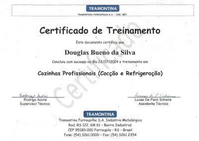 Certificado Tramontina